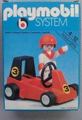 Playmobil 3575 - go-cart - Box