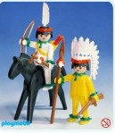 Playmobil - 3580v1 - Mounted Indian And Brave