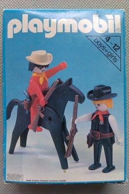 Playmobil 3581v2 - Sheriff / Cowboy - Box