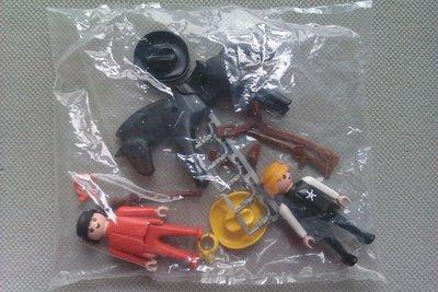 Playmobil 3581v2 - Sheriff / Cowboy - Back