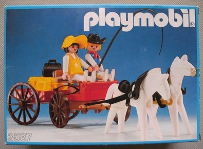 Playmobil 3587v1 - Western Farm Wagon - Box