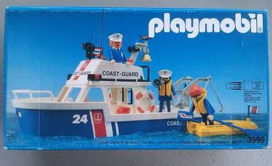 Playmobil 3599 - Guardacostas - Caja