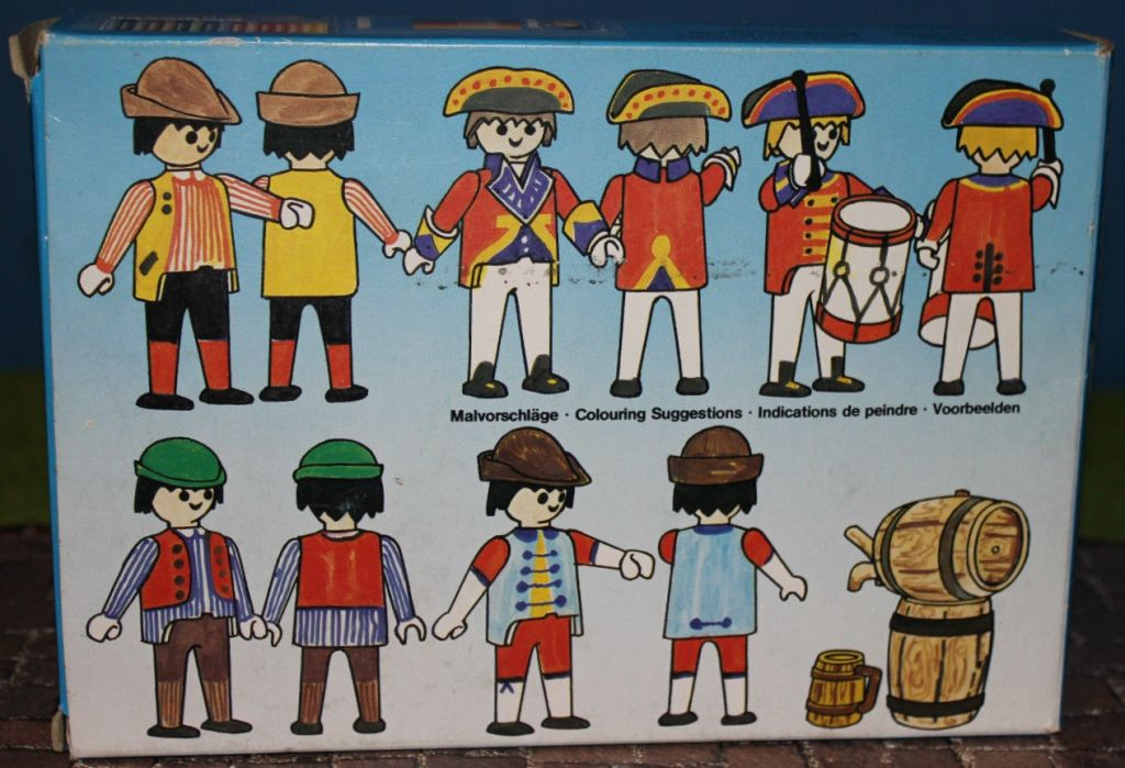 Playmobil 3606 - King's recruiters - Back