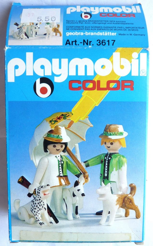 Playmobil 3617 - Hunters with dogs - Box