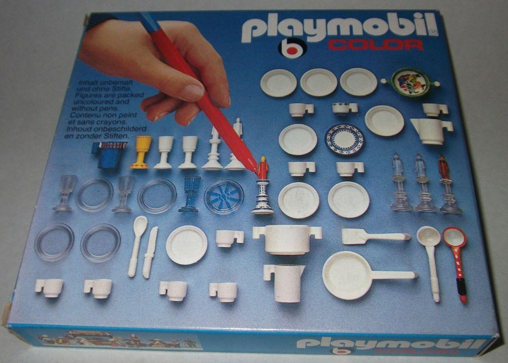 Playmobil 3630 - Dishes - Box