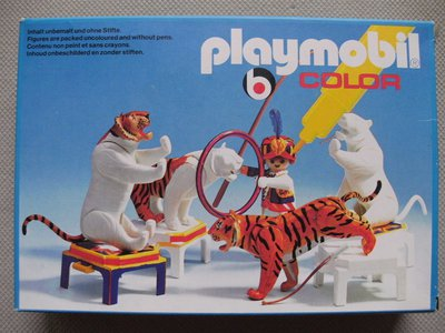 Playmobil 3646v1 - Tiger Trainer - Box