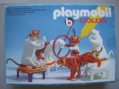 Playmobil 3646v2 - Tiger Trainer - Box
