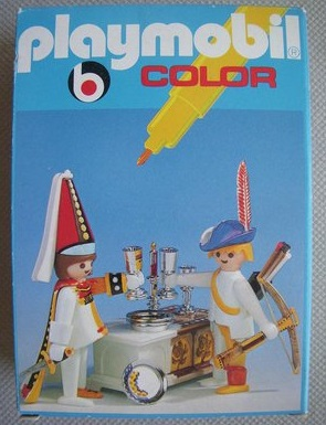 Playmobil 3663 - Archer & Courtesan - Box