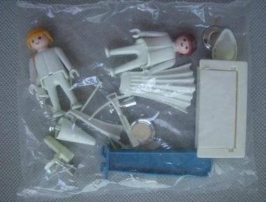 Playmobil 3663 - Archer & Courtesan - Back