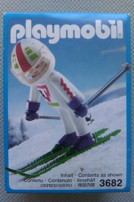 Playmobil 3682 - Downhill Skier - Box
