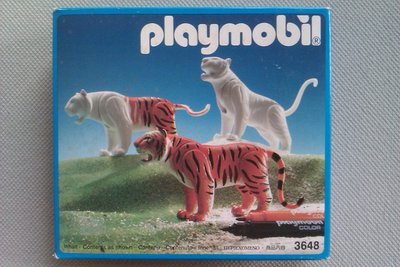 Playmobil 3648 - Tigers - Box