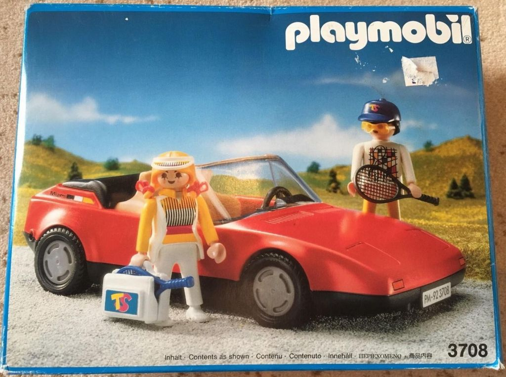Playmobil 3708 - Red Sportscar - Box