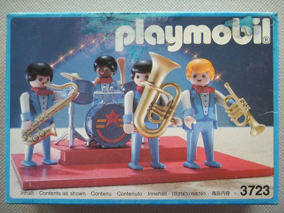 Playmobil 3723 - Romani Circus band - Box