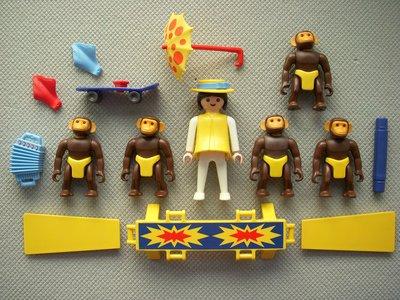 Playmobil 3726 - Performing Chimps - Back