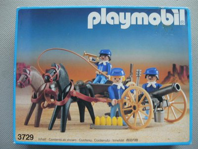 Playmobil 3729 - U.S. Artillerie - Box