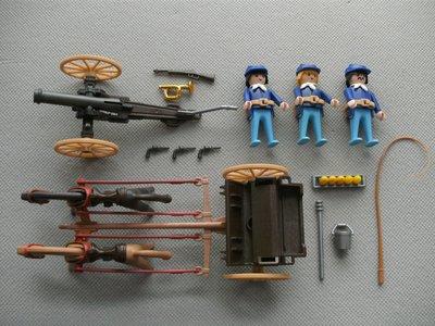 Playmobil 3729 - U.S. Artillerie - Back