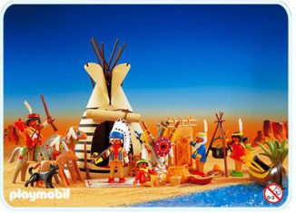 Playmobil - 3733v2 - Indian Camp