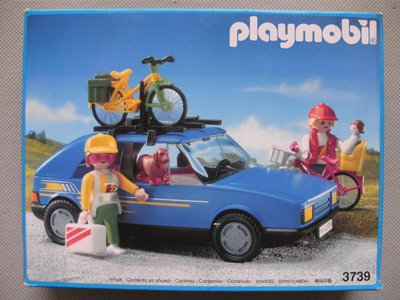 Playmobil 3739v2 - Family Car - Box