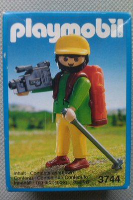 Playmobil 3744 - Hiker With Camcorder - Box