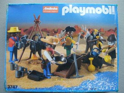 Playmobil 3747 - Gold washers - Box