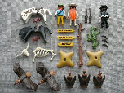Playmobil 3748 - Western Bandits - Back