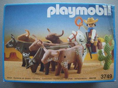 Playmobil 3749 - Longhorn Trail - Box