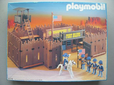 Playmobil 3773 - Fort Bravo - Box