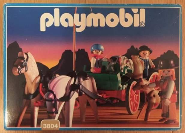 Playmobil 3804 - Western Buckboard - Box