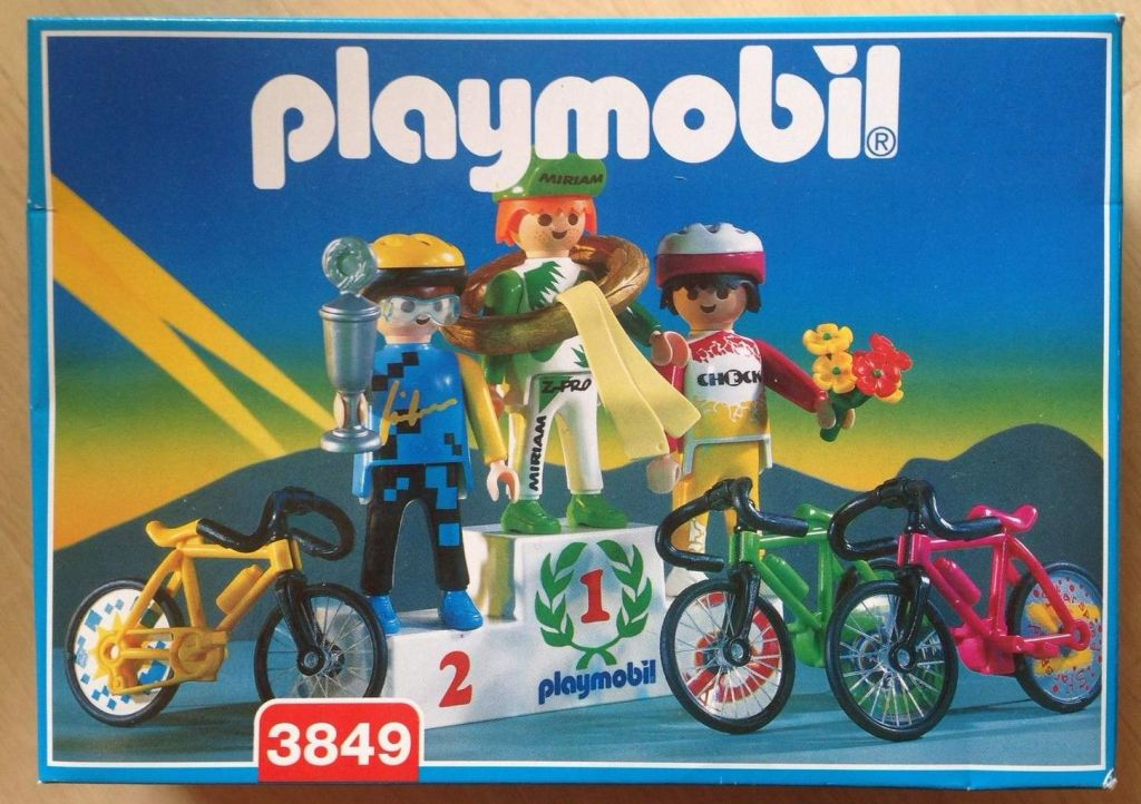 Playmobil 3849 - Cycle Champions - Box