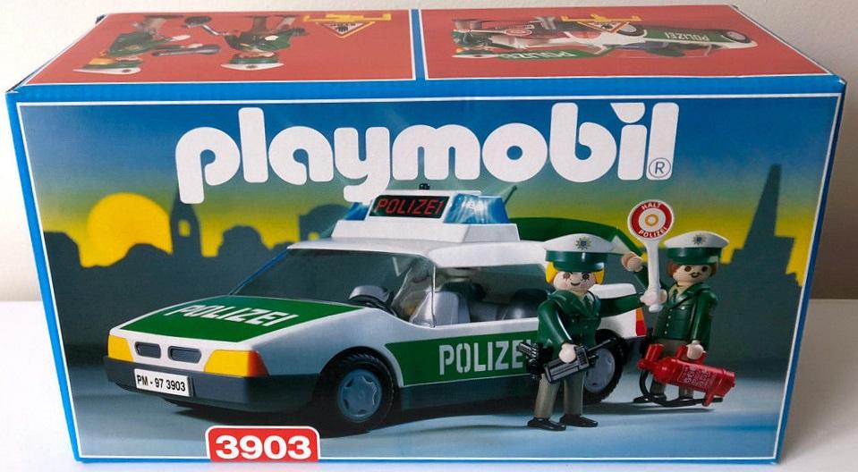 Playmobil 3903v1 - Police Car - Box