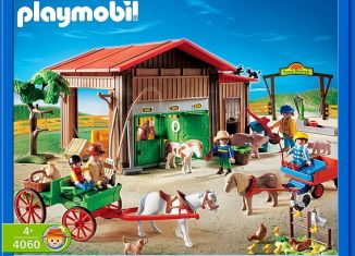 Playmobil - 4060-ger - Pony Ranch