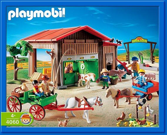 playmobil set 4060 ger pony ranch klickypedia. Black Bedroom Furniture Sets. Home Design Ideas