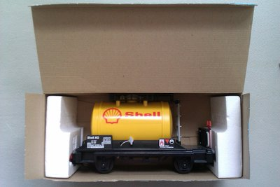 Playmobil 4107 - Shell Tanker Car - Back