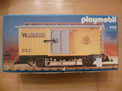 Playmobil 4122 - Western Freight Car - Box