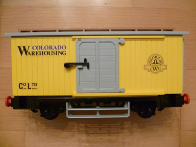 Playmobil 4122 - Western Freight Car - Back