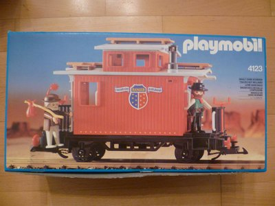 Playmobil 4123 - Ranger Caboose - Box