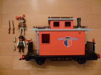 Playmobil 4123 - Ranger Caboose - Back