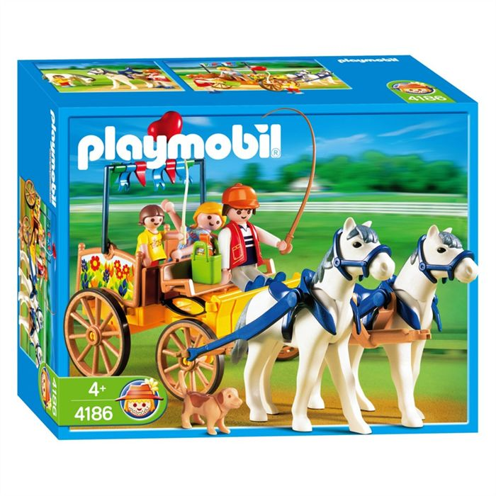 Playmobil 4186 - Horse wagon - Box