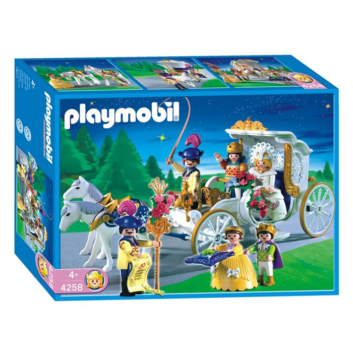 Playmobil 4258 - Royal Carriage - Box