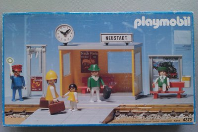 Playmobil 4370 - Platform - Box