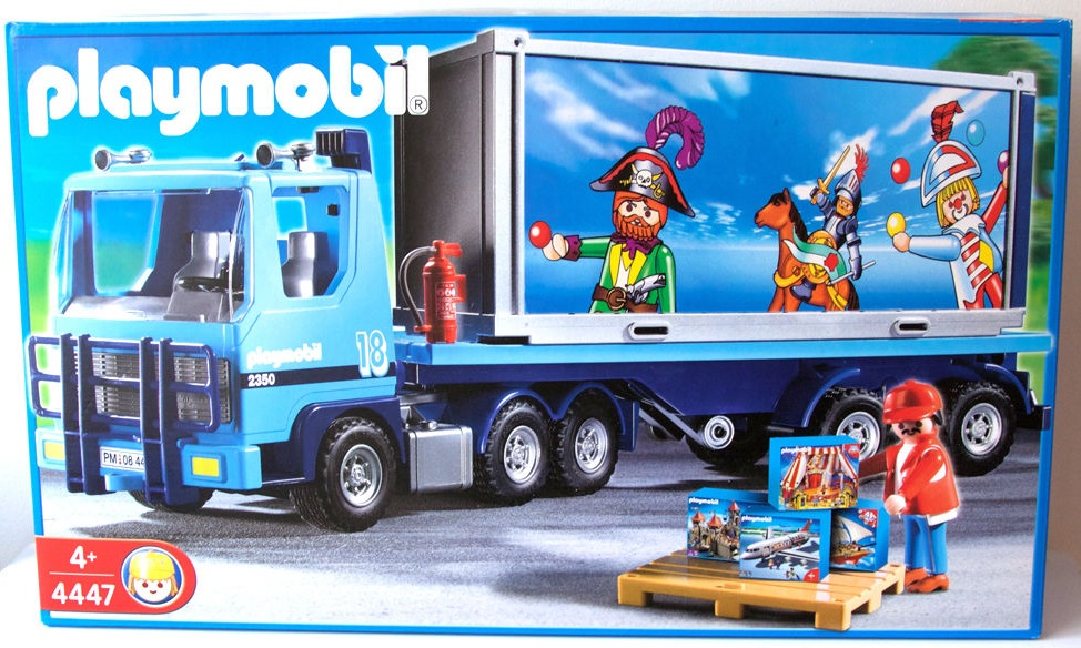 Playmobil 4447 - Playmobil Container Truck - Box