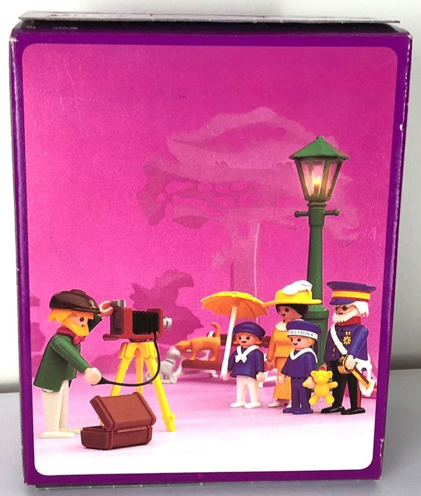 Playmobil 5401-esp - Photographer - Box
