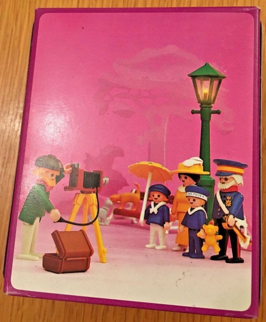 Playmobil 5401v1 - Photographer - Back