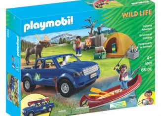 Playmobil - 5669-gre - Camping Adventure