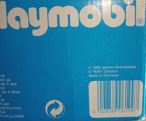 Playmobil 6199-ger - Fort Ruby - Back
