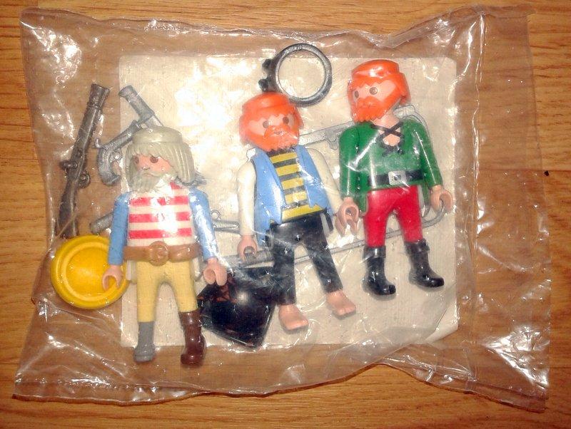 Playmobil 7667 - 3 pirates - Box