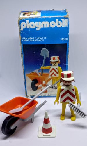 Playmobil 13313-aur - Construction Worker - Box