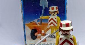 Playmobil - 13313-aur - Construction Worker