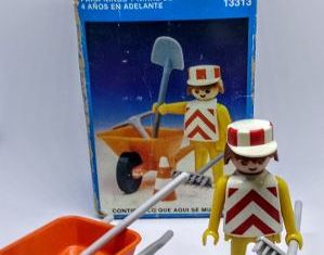 Playmobil - 13313-aur - Construction Worker