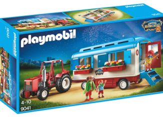 Playmobil - 9041 - Roncalli Tractor and Trailer